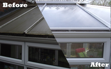 Puretecs Conservatory cleaning
